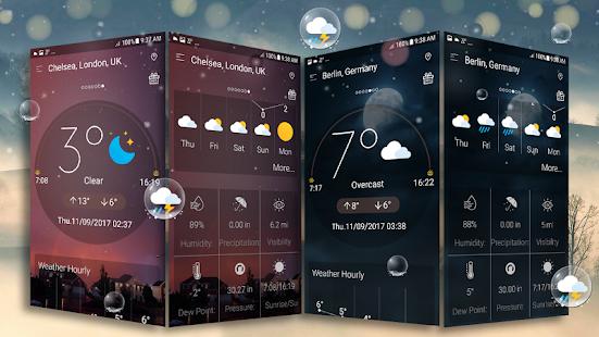 Daily weather forecast v6.2 screenshots 12