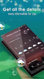 Daily weather forecast v6.2 screenshots 4
