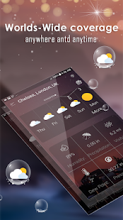 Daily weather forecast v6.2 screenshots 5