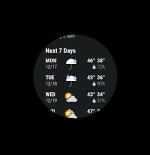 Dark Sky – Hyperlocal Weather v3.3.1 screenshots 15