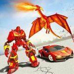 Download Flying Dragon Robot Car – Robot Transforming Games 2.6 APK