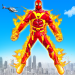 Download Flying Fire Hero Robot Transform: Robot Games  APK
