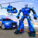Download Flying Police Helicopter Car Transform Robot Games 31 APK