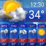Download Free Weather Forecast App Widget 16.6.0.6365_50186 APK