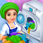 Download Laundry Shop Clothes Washing Game 1.23 APK