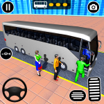 Download Modern Bus Parking Adventure: Advance Bus Games 1.1.4 APK