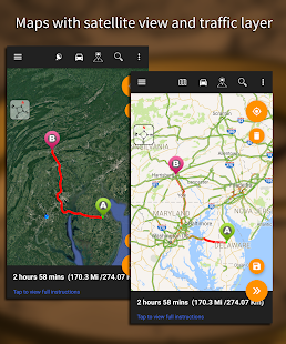 Driving Route Finder – Find GPS Location amp Routes v2.4.0.3 screenshots 14