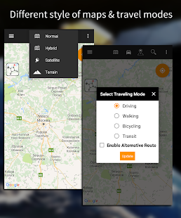 Driving Route Finder – Find GPS Location amp Routes v2.4.0.3 screenshots 2