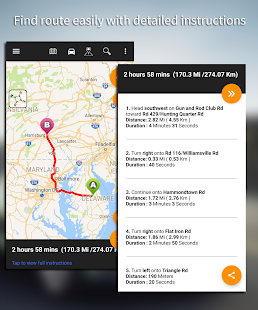 Driving Route Finder – Find GPS Location amp Routes v2.4.0.3 screenshots 7