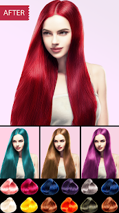 Easy Hair Color Changer v2.2.0 screenshots 1