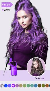 Easy Hair Color Changer v2.2.0 screenshots 2