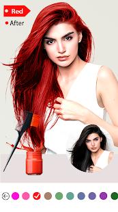 Easy Hair Color Changer v2.2.0 screenshots 3