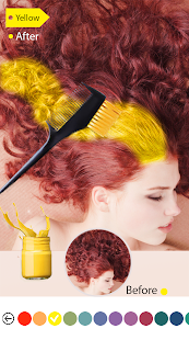Easy Hair Color Changer v2.2.0 screenshots 4