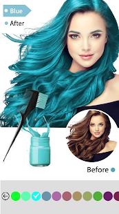Easy Hair Color Changer v2.2.0 screenshots 5