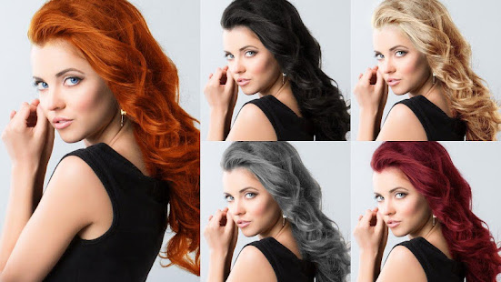 Easy Hair Color Changer v2.2.0 screenshots 7