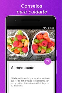 Embarazo semana a semana espaol v1.6 screenshots 6