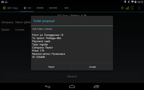 Etaximo Driver v3.18.15420 screenshots 6
