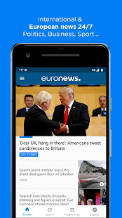 Euronews Daily breaking world news amp Live TV v5.4.3 screenshots 1