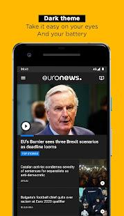 Euronews Daily breaking world news amp Live TV v5.4.3 screenshots 2