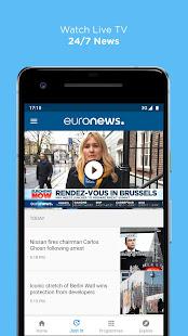 Euronews Daily breaking world news amp Live TV v5.4.3 screenshots 3