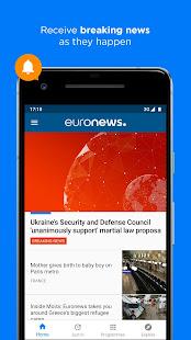 Euronews Daily breaking world news amp Live TV v5.4.3 screenshots 5