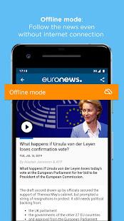 Euronews Daily breaking world news amp Live TV v5.4.3 screenshots 6