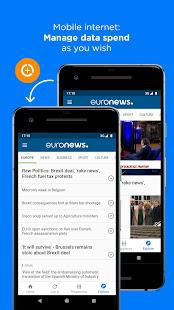 Euronews Daily breaking world news amp Live TV v5.4.3 screenshots 7