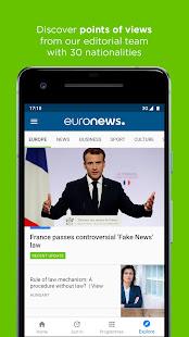 Euronews Daily breaking world news amp Live TV v5.4.3 screenshots 8