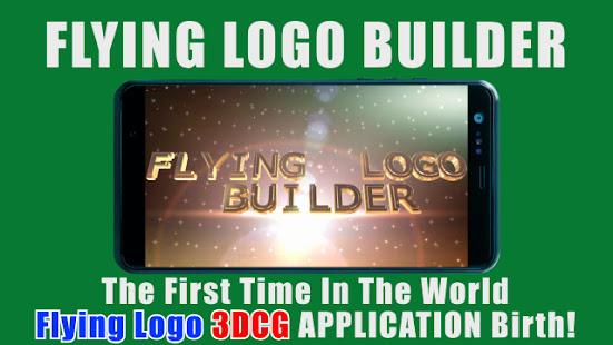FLYING LOGO BUILDER – 3d Intro Movie Maker v4.0.1 screenshots 1