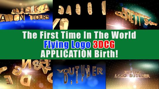 FLYING LOGO BUILDER – 3d Intro Movie Maker v4.0.1 screenshots 2