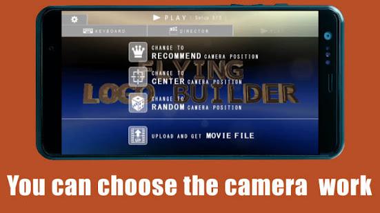 FLYING LOGO BUILDER – 3d Intro Movie Maker v4.0.1 screenshots 5