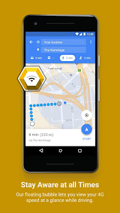 Fastah 4G Finder LTE speed map internet monitor v1.68 screenshots 5