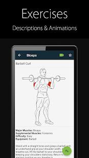 Fitness Trainer FitProSport v4.89 FREE screenshots 3