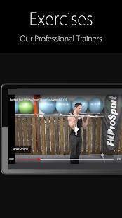 Fitness Trainer FitProSport v4.89 FREE screenshots 4