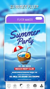 Flyers Posters Ads Page Designer Graphic Maker v4.0 screenshots 12
