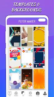 Flyers Posters Ads Page Designer Graphic Maker v4.0 screenshots 2