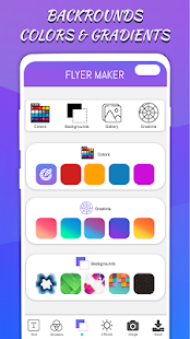 Flyers Posters Ads Page Designer Graphic Maker v4.0 screenshots 5