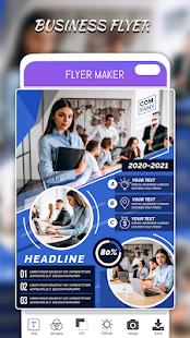 Flyers Posters Ads Page Designer Graphic Maker v4.0 screenshots 7