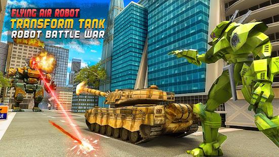 Flying Air Robot Transform Tank Robot Battle War v1.1.2 screenshots 1