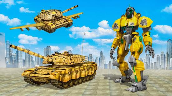 Flying Air Robot Transform Tank Robot Battle War v1.1.2 screenshots 4