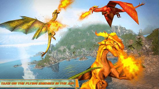 Flying Dragon Robot Car – Robot Transforming Games v2.6 screenshots 12