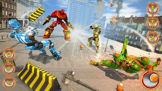 Flying Dragon Robot Car – Robot Transforming Games v2.6 screenshots 14
