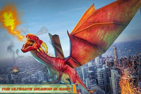 Flying Dragon Robot Car – Robot Transforming Games v2.6 screenshots 3