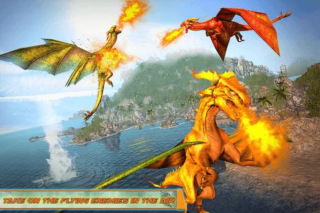 Flying Dragon Robot Car – Robot Transforming Games v2.6 screenshots 4