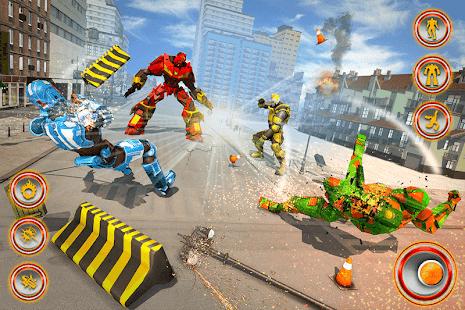 Flying Dragon Robot Car – Robot Transforming Games v2.6 screenshots 5