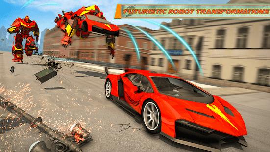 Flying Dragon Robot Car – Robot Transforming Games v2.6 screenshots 6