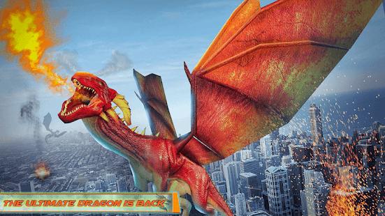 Flying Dragon Robot Car – Robot Transforming Games v2.6 screenshots 7