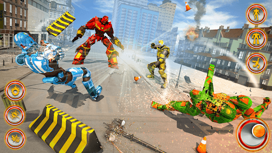 Flying Dragon Robot Car – Robot Transforming Games v2.6 screenshots 9