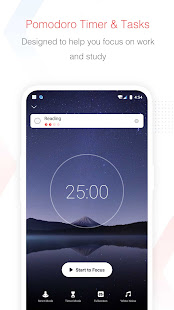Focus To-Do Pomodoro Timer amp To Do List v11.0 screenshots 1