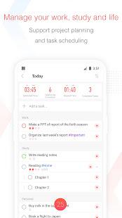 Focus To-Do Pomodoro Timer amp To Do List v11.0 screenshots 3